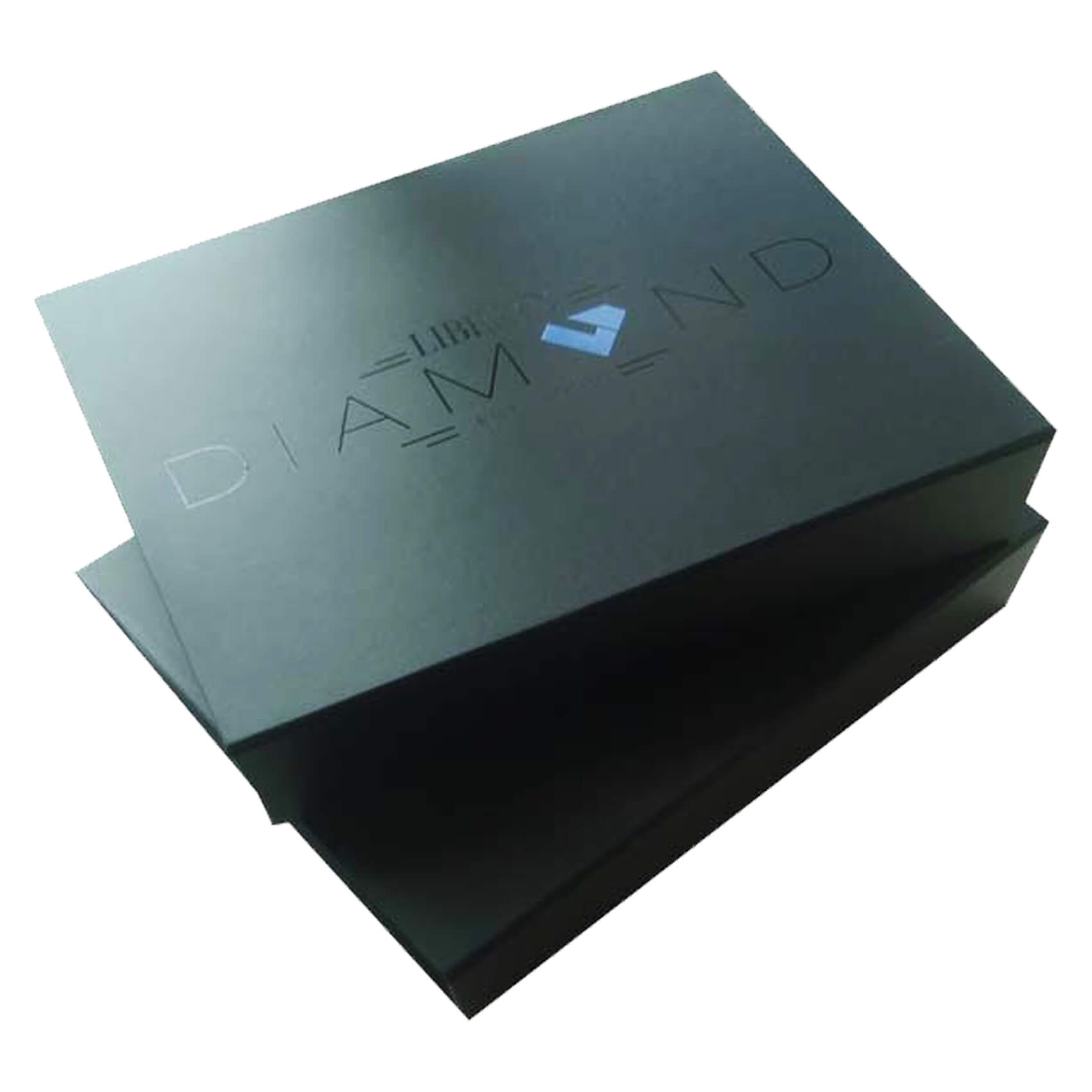 Large Black Book Shaped Gift Box