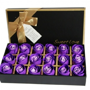 Chocolate Flower Box with Dividers