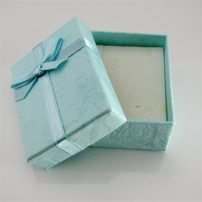 Earring Jewellery Box With Ribbon