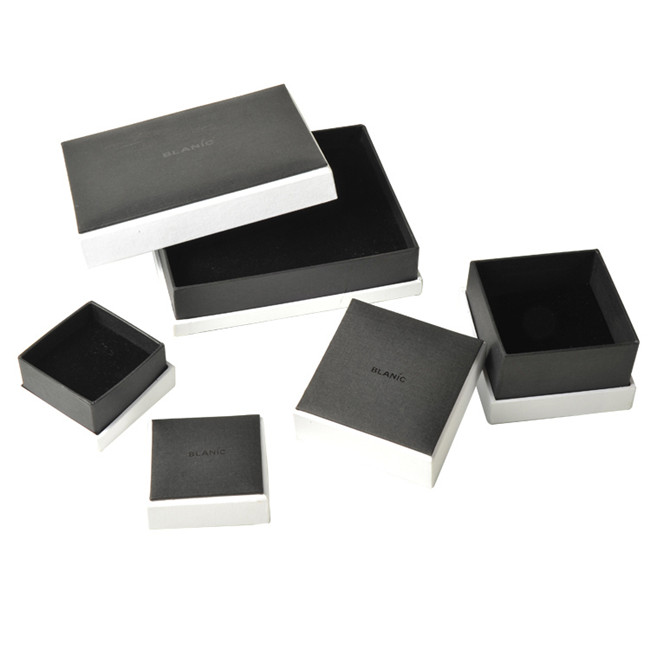 Black Bespoke Jewellery Boxes,Small Earring Gift Boxes