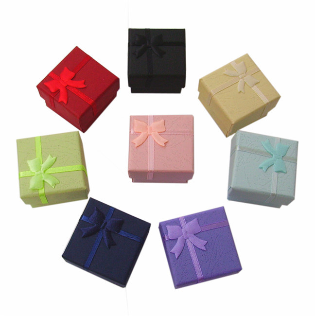 Custom Small Gift Box For Earrings With Foam