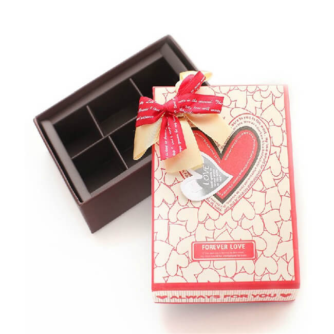 small box of chocolates for gifts