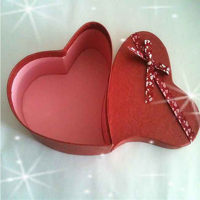 Unique Heart Shaped Chocolate Candy Gift Boxes