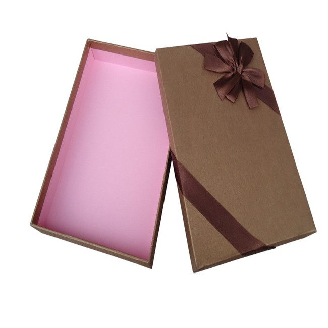 Barker Chocolate Box With Ribbon Decoration