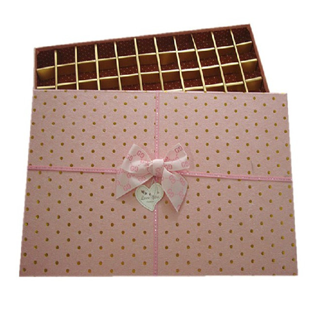 homemade chocolate gift boxes