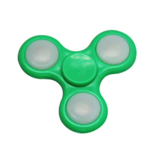 ABS Plastic LED Finger Fidget Spinners Stress Relief