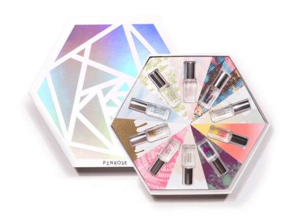 Most luxury hexagon cosmetic cardboard gift box