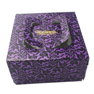 Large Cake Packaging Box with Handle