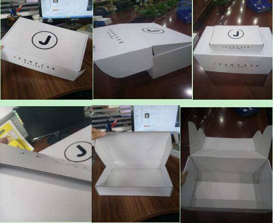 corrugated cosmetic packaging box for shipping