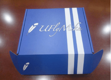 CMYK Color Matte Corrugated Shipping Box