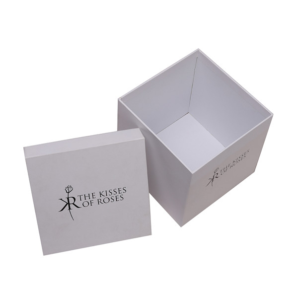 Clear White Gift Boxes