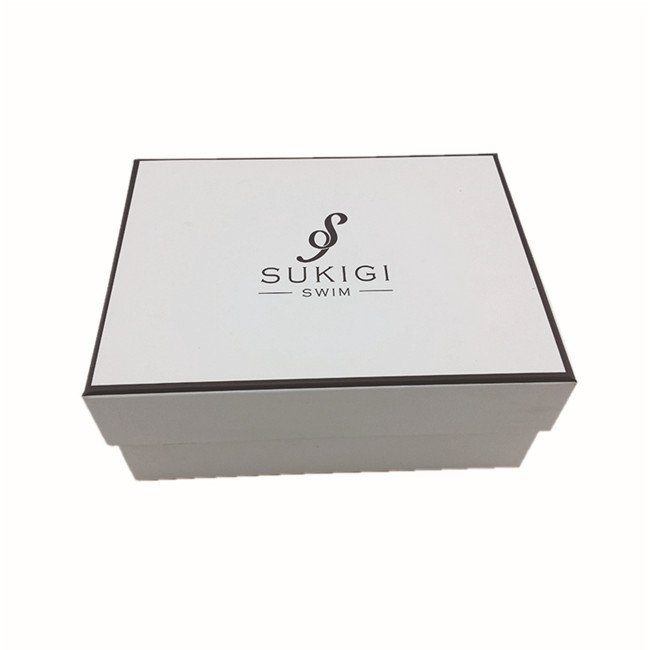 Cheap Custom White Apparel Cardboard Boxes