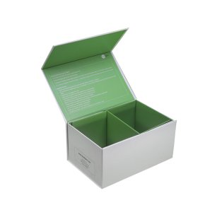 Green Gift Box, Designer Boxes For Gifts With Divider
