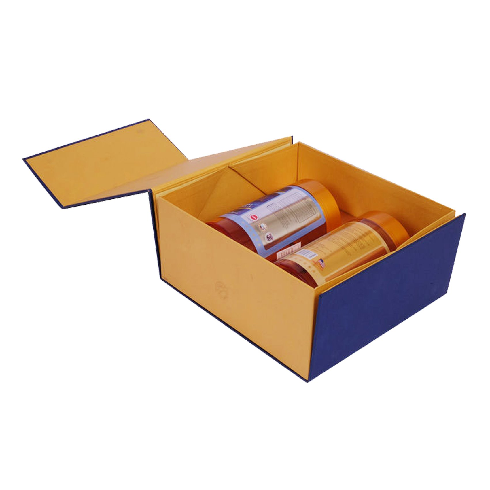 Foldable Tea Packaging Box with Magnet Closure